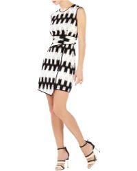 BCBGMAXAZRIA Alivia Wrap Waist Dress - Lyst