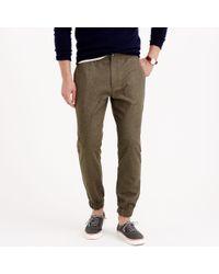 J.Crew Wool Sideline Pant - Lyst