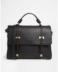 ASOS - Slot Through Satchel Bag - Lyst