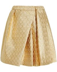 N°21 Speranza Skirt in Gold Brocade - Lyst