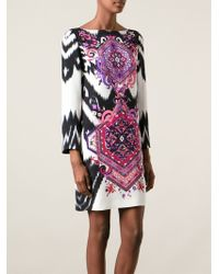 Emilio Pucci Suzani Print Dress - Lyst