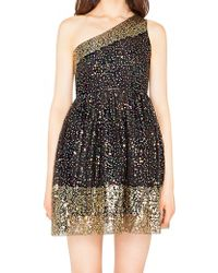 Pixie Market Studio Sequin Dress - Lyst