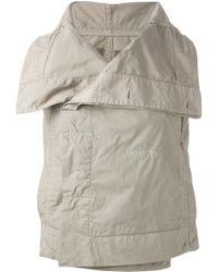DRKSHDW by Rick Owens Oversized Collar Vest - Lyst