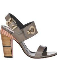 Fendi Cara Sandals - Lyst