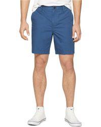 Calvin Klein Jeans Polka Dot Flat Front Shorts - Lyst