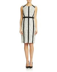 Nydj Banded Sheath Dress - Lyst