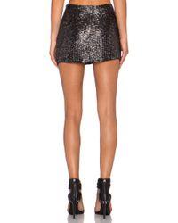 MLV - Shannon Sequin Skirt - Lyst