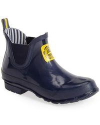 Joules Short Rain Boot - Lyst