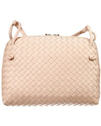 Bottega Veneta Handbag Shoulder Flat Square Woven - Lyst