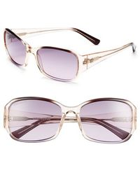 Converse - 'plugged In' 58mm Sunglasses - Smoke/ Purple - Lyst