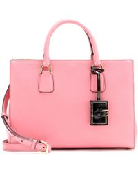 Dolce & Gabbana Leather Tote - Lyst