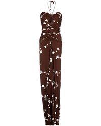 Michael Kors Long Dress - Lyst