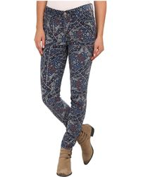 Free People Tapestry Hi Rise Cord - Lyst