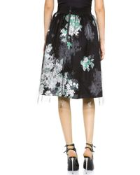 Milly Monica Skirt  - Lyst