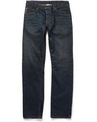 Raleigh Denim Jones Slim-Fit Washed-Denim Jeans - Lyst