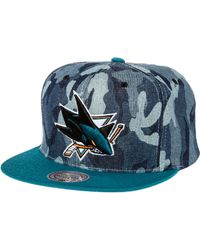 Mitchell & Ness The San Jose Sharks Snapback - Lyst