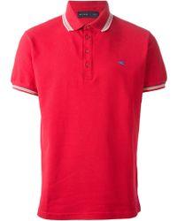 Etro Classic Polo Shirt - Lyst