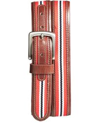 Jack Mason Brand - 'tailgate - Nc State Wolfpack' Belt, Brown - Lyst