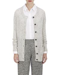 ATM - Donegal Cashmere Button-front Cardigan - Lyst