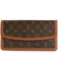 Louis Vuitton Monogram Dame Clutch - Lyst