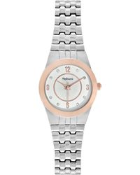 Style & Co. - Style&co. Watch, Women's Silver Tone Expansion Bracelet 20mm Sy026srg - Lyst