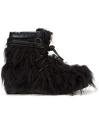 KTZ - Faux Fur Boots - Lyst