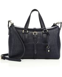 Mulberry - Roxette Small Crocodile-embossed Satchel - Lyst
