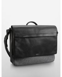 Calvin Klein Ombre Shine Messenger Bag - Lyst