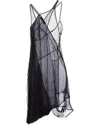 Preen Knee-Length Dress black - Lyst