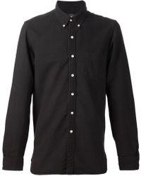 RRL Button Collar Shirt - Lyst