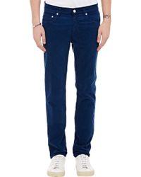 Acne Studios Ace Cord Jeans - Lyst