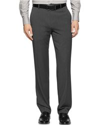 Calvin Klein | Regular Fit Pants | Lyst