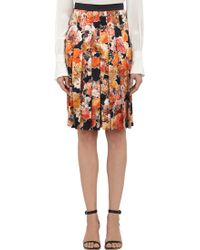 Givenchy Multicolor Floral-print Culottes - Lyst
