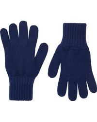 Drake's | Contrast-cuff Gloves | Lyst