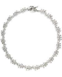 Marchesa | 'leaf' Collar Necklace | Lyst