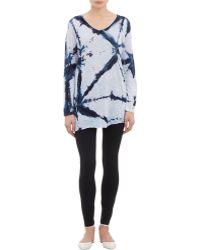 Gilda Midani - Splash-print Jersey Tunic - Lyst