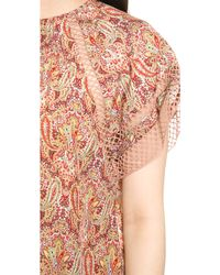 Zimmermann Sundown Paisley Cover Up Dress Paisley - Multicolour