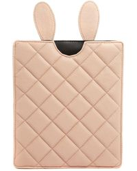 Asos Quilted Ipad Case with Rabbit Ears - Lyst
