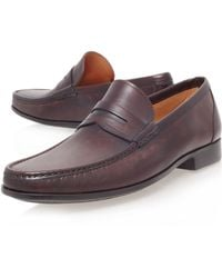 Magnanni Leather Penny Loafer - Lyst