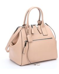 Marc Jacobs Cashew Nude Leather Incognito Large Handbag - Lyst