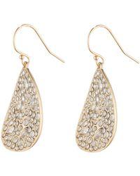 Alexis Bittar Crystal Encrusted Drop Earring - Lyst