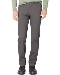 Calvin Klein Fourpocket Sateen Bowery Casual Pants - Lyst