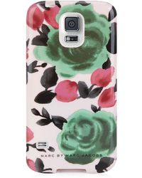 Marc By Marc Jacobs Glossy Jerrie Rose Samsung Galaxy S5 Case - Lyst