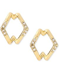 House of Harlow 1960 - Sound Waves Stud Earrings - Lyst