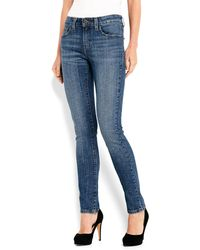 Levi's Slim Fit Mid Rise Skinny Jeans - Lyst