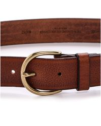 Madewell - Medium Perfect Leather Belt - Pecan - Lyst
