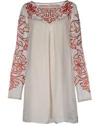Alice By Temperley Short Dress - Lyst
