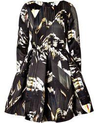 Kenzo Twill Mountains Dress - Lyst