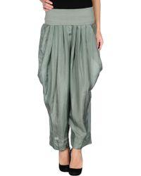Donna Karan New York Casual Trouser green - Lyst