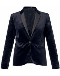 Gucci Velvet Single-breasted Jacket - Lyst
